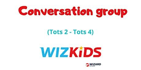 Grupo de conversação ingressos
