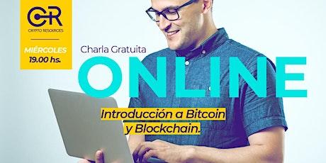 Charla Online: Introdución a Bitcoin y Blockchain entradas