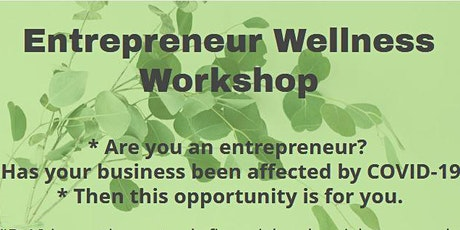 Entrepreneur Wellness Workshop tickets
