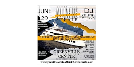 YACHT LIFE WHITE AFFAIR W/ DJ YOUNG(Big 6 Fest) tickets