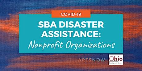 SBA Disaster Assistance: Nonprofit Organizations tickets