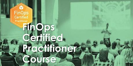 FinOps Certified Practitioner Online Course tickets