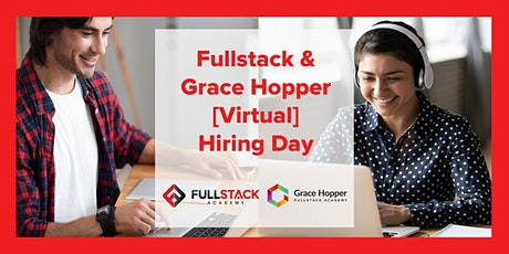 Virtual NYC Fullstack Academy & Grace Hopper Program Hiring Day tickets