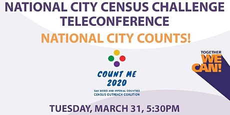 National City Census Challenge TeleConference tickets