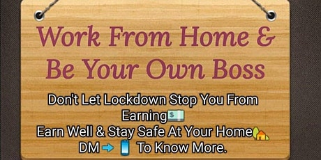 Work at Home Online Opportunity tickets