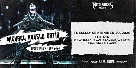 Michael Angelo Batio Speed Kills Tour 2020 in Spokane tickets