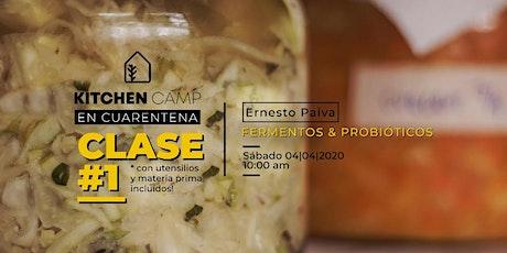 Kitchen Camp Online con Ernesto Paiva - SÓLO CÓRDOBA CAPITAL - entradas