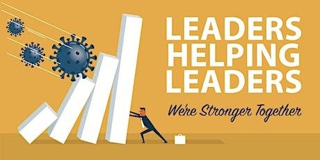 Leaders Helping Leaders: HR/culture/leadership implications tickets