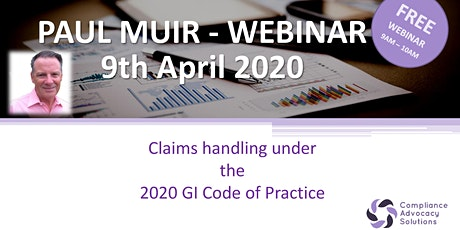 Claims handling under the 2020 GI Code of Practice tickets