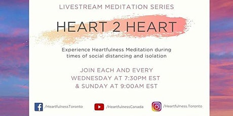Free Weekly Wednesday Meditation Sessions — Heartfulness Meditation tickets