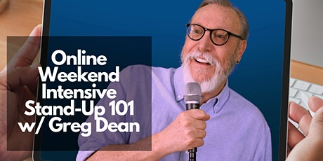 LIVE ONLINE | Weekend  Intensive April 18/19 | Stand-Up Comedy 101 Class tickets