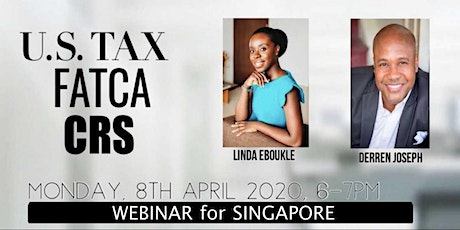 U.S TAX, FATCA and CRS (WEBINAR) tickets