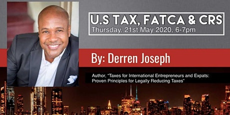 U.S TAX, FATCA and CRS (WEBINAR) tickets
