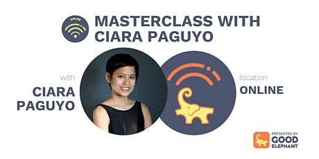 Online Workshop: Masterclass with Ciara Paguyo tickets