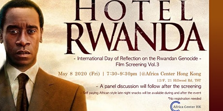 Film Screening Vol.3 | Hotel Rwanda tickets