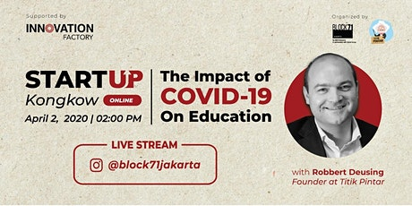 Startup Kongkow Vol. 1 with Titik Pintar: Impact of COVID-19 on Education tickets