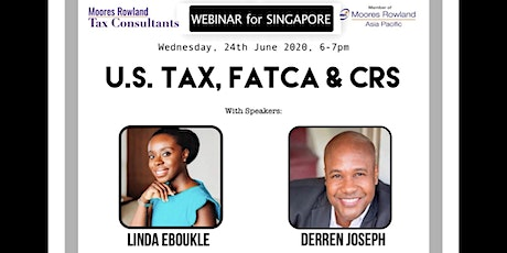 U.S. TAX, FATCA and CRS tickets