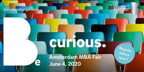 Amsterdam MBA Fair 2020 tickets