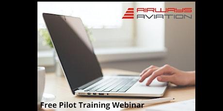 Airways Aviation Pilot Training Webinar - 9th of April 2020 tickets
