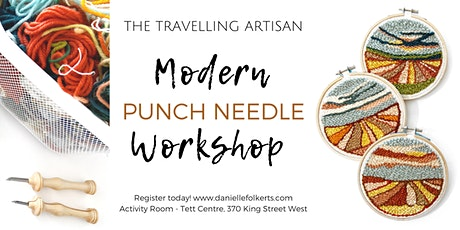 Modern Punch Needle Workshop tickets