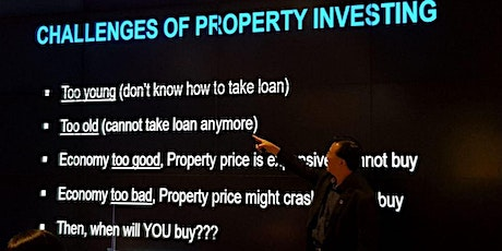 ** Smart Property Investments For a Better Future -- Only 8 Seats ** tickets