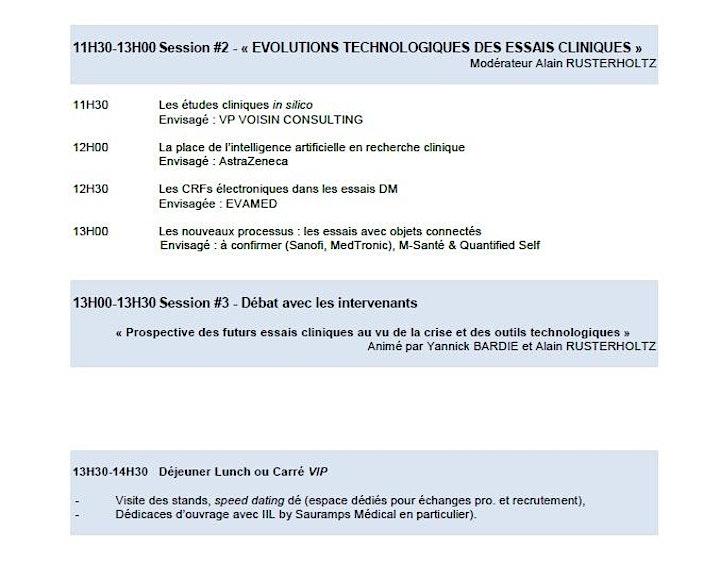 Image pour RNAT 2020 Rencontres Nationales des ARCs & TECs Monitoring Essais Cliniques