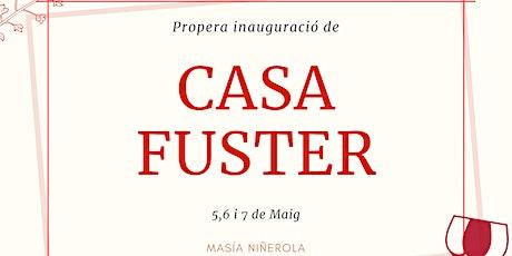 Esdeveniment Inauguració Casa Fuster Valencia entradas
