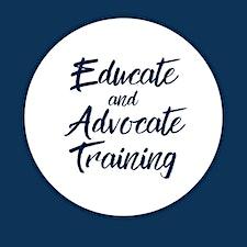 Educate and Advocate Training logo