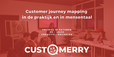 Customer journey mapping in de praktijk en in mensentaal. tickets