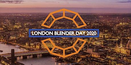 London Blender Day 2020 Online tickets
