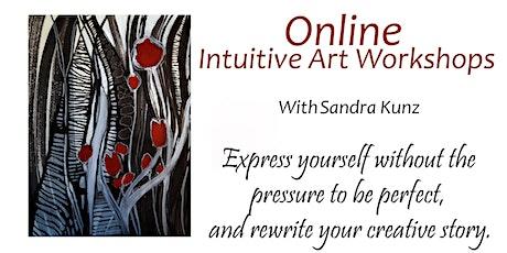 Online Intuitive Art Workshop April 26th, 2020 tickets
