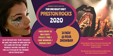 Preston Rocks 2020 - For one night only! tickets