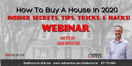 Dallas TX: How to Buy a House in 2020 (Webinar)Hosted by Chad Hostetter tickets
