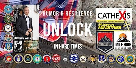 Unlock Humor & Resilience in Hard Times Webinar tickets