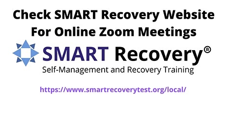 Check For SMART Recovery Online Meetings tickets