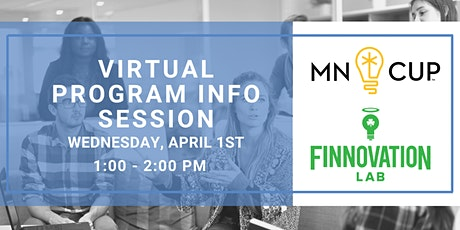 Virtual Program Info Session: MN Cup & Finnovation Fellows tickets