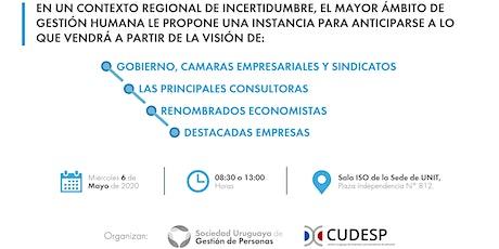 Jornada sobre Empleabilidad y Mercado de Trabajo - Uruguay 2020 entradas