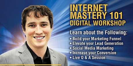 Internet Mastery 101 Digital tickets