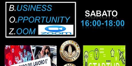 BUSINESS OPPORTUNITY ZOOM biglietti