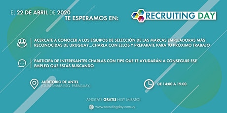 Recruiting Open Day entradas