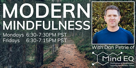 (Online) Evidence Based Mindfulness Every Monday Night tickets