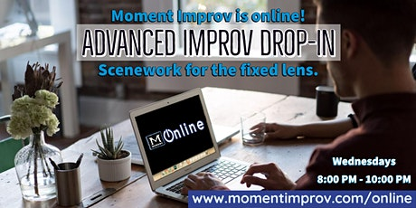Moment Improv's Advanced Drop-in class tickets