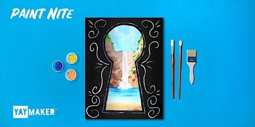 Virtual Paint Nite: The Original Paint + Sip Party