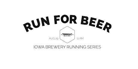 Beer Run - Torrent Brewing | Part of the 2020 Iowa Brewery Running Series tickets