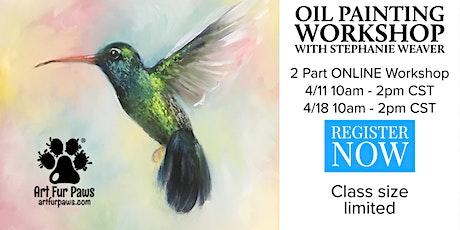 2 Part ONLINE Oil Painting Workshop tickets
