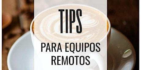 Lean Coffee Virtual - Tips para Equipos Remotos entradas