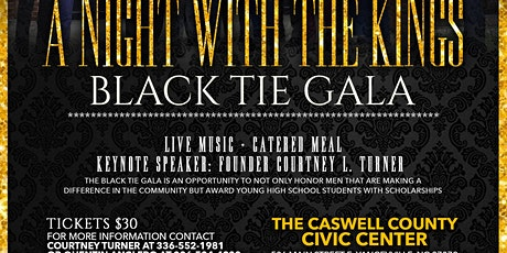 A Night With Kings Black Tie Charity Gala  tickets