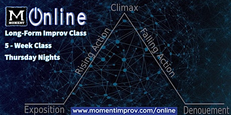 Moment Online: Long-Form Improv Class (5:30 PM) tickets