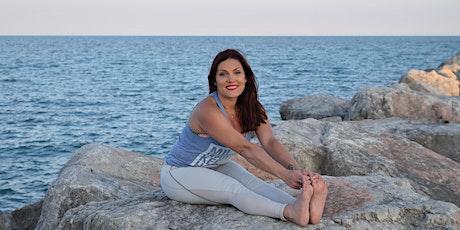 Virtual Gentle Restorative Yoga Stretch - Online Yoga Social tickets