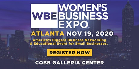 Atlanta Women's Business Expo 2020 tickets